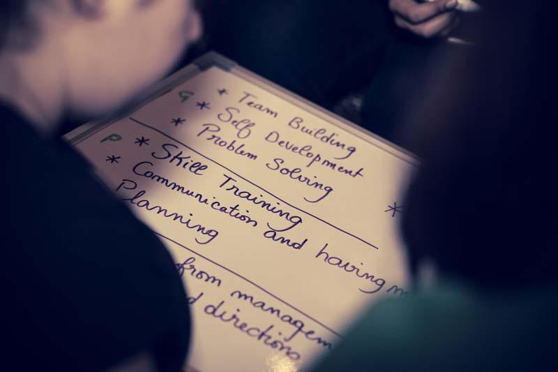 Problem solving team building